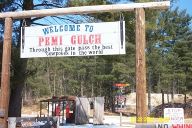 Image of the gateway to Pemi Gulch